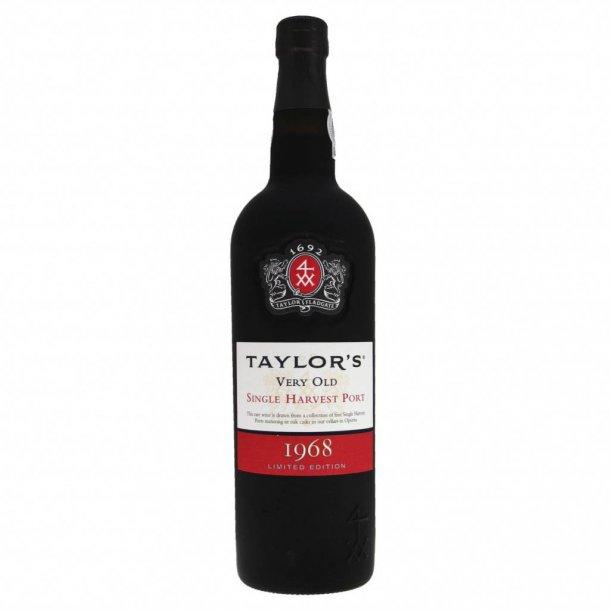 Taylors Single Harvest 1968